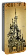 Cinderella Castle Patent Portable Battery Charger