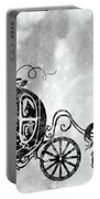 Cinderella's Carriage-black Portable Battery Charger