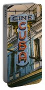 Cine Cuba Portable Battery Charger