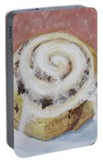 Cinnamon Roll Portable Battery Charger