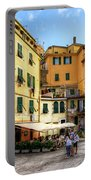 Cinque Terre - Vernazza Main Street Portable Battery Charger
