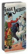 Cirage Jacquot And Cie - Vintage French Advertising Poster Portable Battery Charger