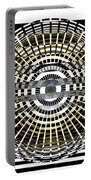 Circles And Stripes 5 Portable Battery Charger