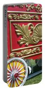 Circus Car In Red And Gold Portable Battery Charger