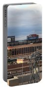 Citi Field - New York Mets Portable Battery Charger by Frank Romeo