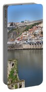 Cities Of Porto And Gaia In Portugal Portable Battery Charger
