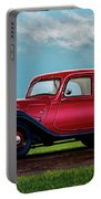Citroen Traction Avant 1934 Painting Portable Battery Charger