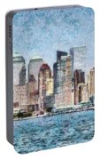 City - Ny - Manhattan Portable Battery Charger