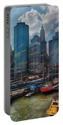 City - Ny - The New City Portable Battery Charger