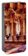 City - Vegas - Excalibur - In The Great Hall  Portable Battery Charger