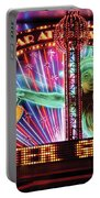 City - Vegas - Ny - The Bar At Times Square Portable Battery Charger