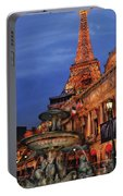 City - Vegas - Paris - Academie Nationale - Panorama Portable Battery Charger