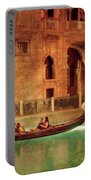 City - Vegas - Venetian - The Gondola's Of Venice Portable Battery Charger