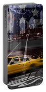 City-art Nyc Composing Portable Battery Charger