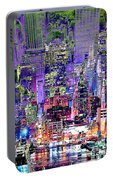 City Art Syncopation Cityscape Portable Battery Charger