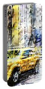 City-art Times Square Streetscene Portable Battery Charger