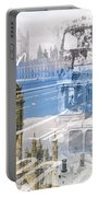 City Art Westminster Collage Portable Battery Charger
