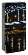 City At Night Portable Battery Charger