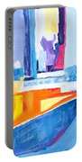 City At Waters Edge Portable Battery Charger