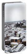 City Centre Of Utrecht With The Dom Tower In Winter Portable Battery Charger