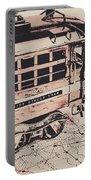 City Circle Street Artwork Portable Battery Charger