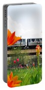 City Garden Chicago L Train Portable Battery Charger