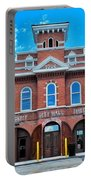 City Hall And Fire Department Portable Battery Charger