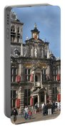 City Hall - Delft - Netherlands Portable Battery Charger