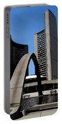 City Halll Arches Portable Battery Charger
