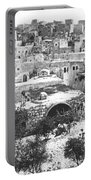 City Of David Bethlehem Portable Battery Charger by Munir Alawi