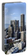 City Of Los Angeles Portable Battery Charger by Kelley King