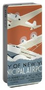 City Of New York Municipal Airports Portable Battery Charger