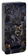 City Of Toronto Downtown After Sunset Portable Battery Charger