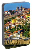 City On A Hillside Portable Battery Charger