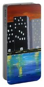 City Scape_night Life Portable Battery Charger