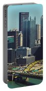 City Skyline-pittsburg Portable Battery Charger