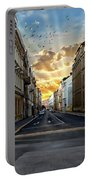 City Street View Portable Battery Charger