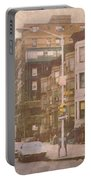 City Streets In Grunge 2 Portable Battery Charger