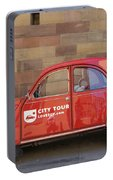 City Tour Car Strasbourg France Portable Battery Charger