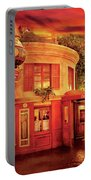 City - Vegas - Paris - Vins Detable Portable Battery Charger by Mike Savad