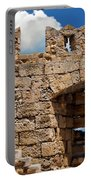 City Walls Of Rhodes Portable Battery Charger