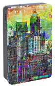 Cityscape Art City Optimist Portable Battery Charger
