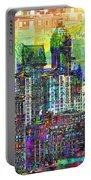 Cityscape Art City Optimist Portable Battery Charger