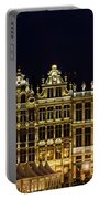 Cityscape In Brussels Europe - Landmark Of Brussels, Belgium Portable Battery Charger