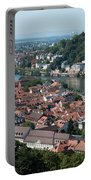 Cityscape  Of Heidelberg In Germany Portable Battery Charger
