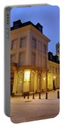 Cityscape Of Utrecht In The Evening At Pausdam 5 Portable Battery Charger
