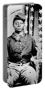 Civil War: Black Soldier Portable Battery Charger