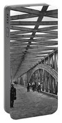 Civil War - Chain Bridge Portable Battery Charger by William Morris Smith
