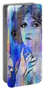 Clara Bow I'll See You In New York Portable Battery Charger