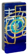 Clarity Throat Chakra Mantra Portable Battery Charger